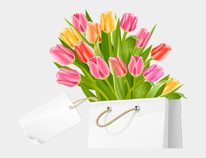 tulips clipart, Cartoons - Wedding Invitation Tulip Flower Bouquet Clip Art - Flowers Bouquets Clip Art