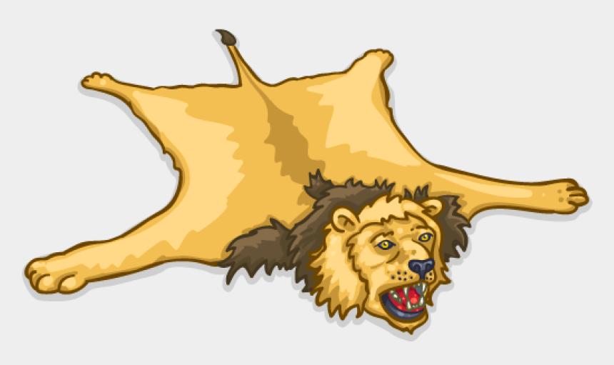 rug clipart, Cartoons - Find Near Me - Lion Rug Cartoon