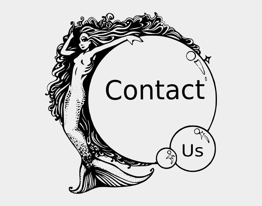 contact us clipart, Cartoons - Potion Label Mermaid Tears