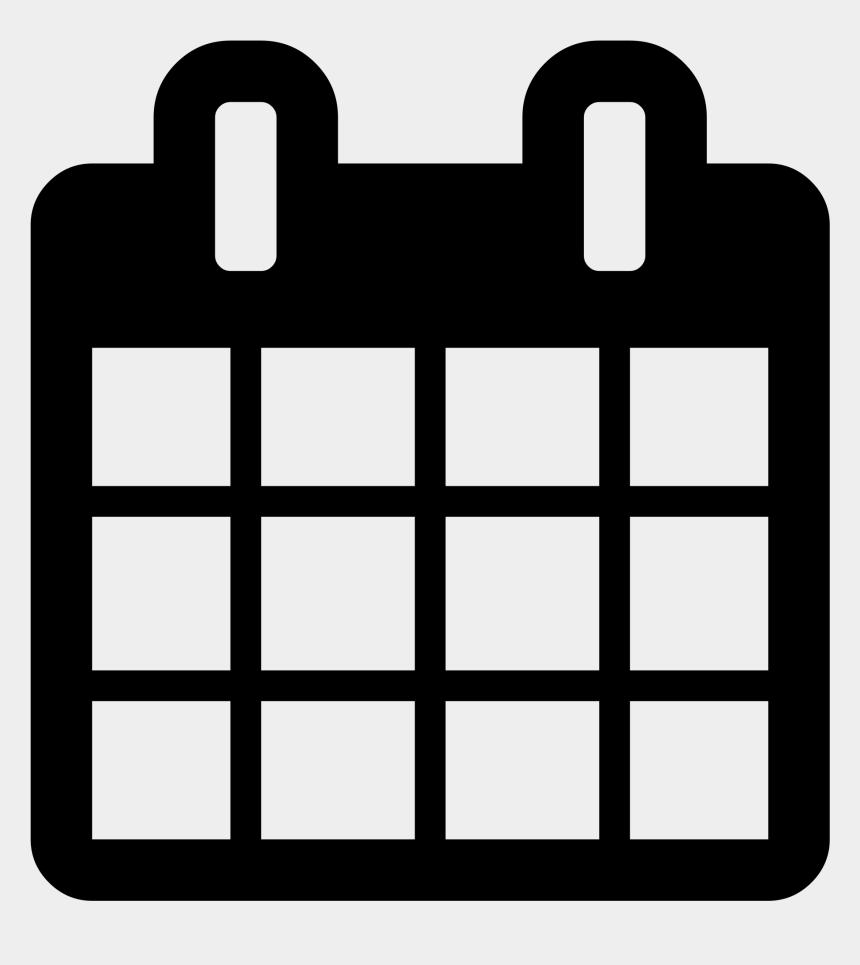 Calendario Clipart.Calendar Icons Transparent White Font Awesome Calendar