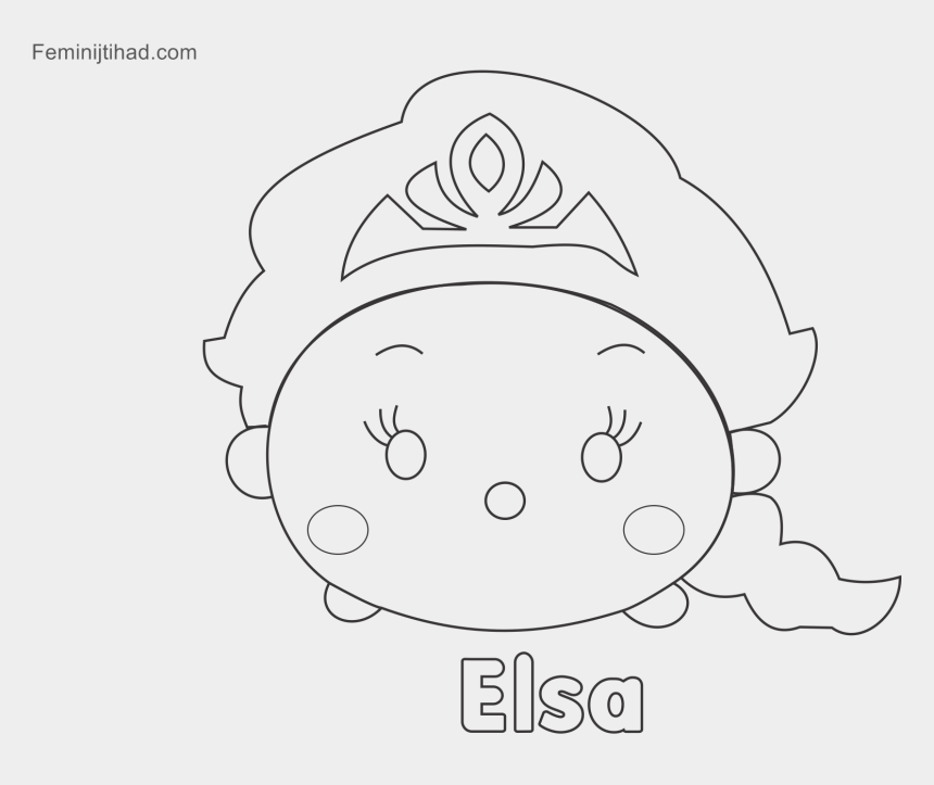 - Tsum Tsum Coloring Pages Printable Coloring Pages For - Line Art, Cliparts  & Cartoons - Jing.fm