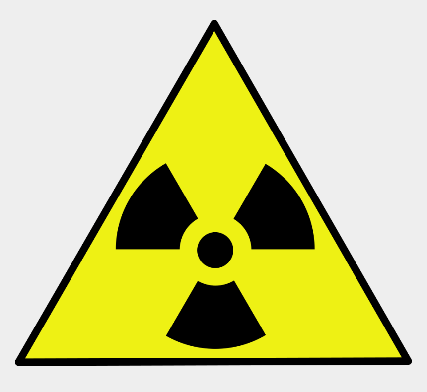 hanging sign clipart, Cartoons - Nuclear Zone Warning Sign Clip Art Free Vector 4vector - Nuclear Warning Sign Png