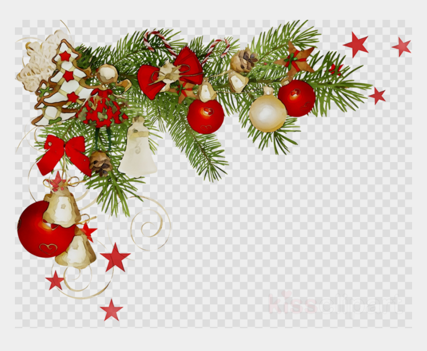 clipart for christmas, Cartoons - Christmas Corner Border Transparent Clipart Christmas - Christmas Corner Border Png