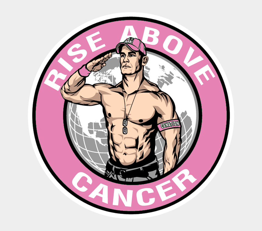 never give up clipart, Cartoons - User Posted Image - John Cena Rise Above Cancer Logo