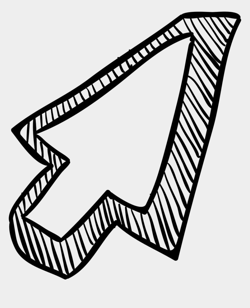 free clip art arrows pointers, Cartoons - Pointer Arrow Svg Png - Sketch Arrow Draw Png