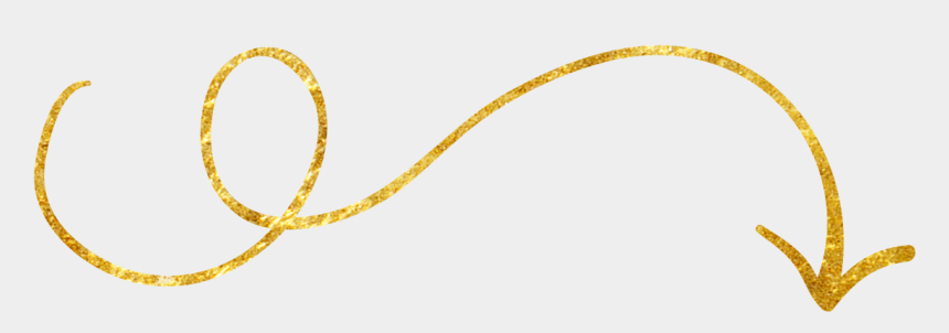 hand drawn arrow clip art, Cartoons - Drawn Arrow Yellow - Transparent Background Arrow Hand Drawn