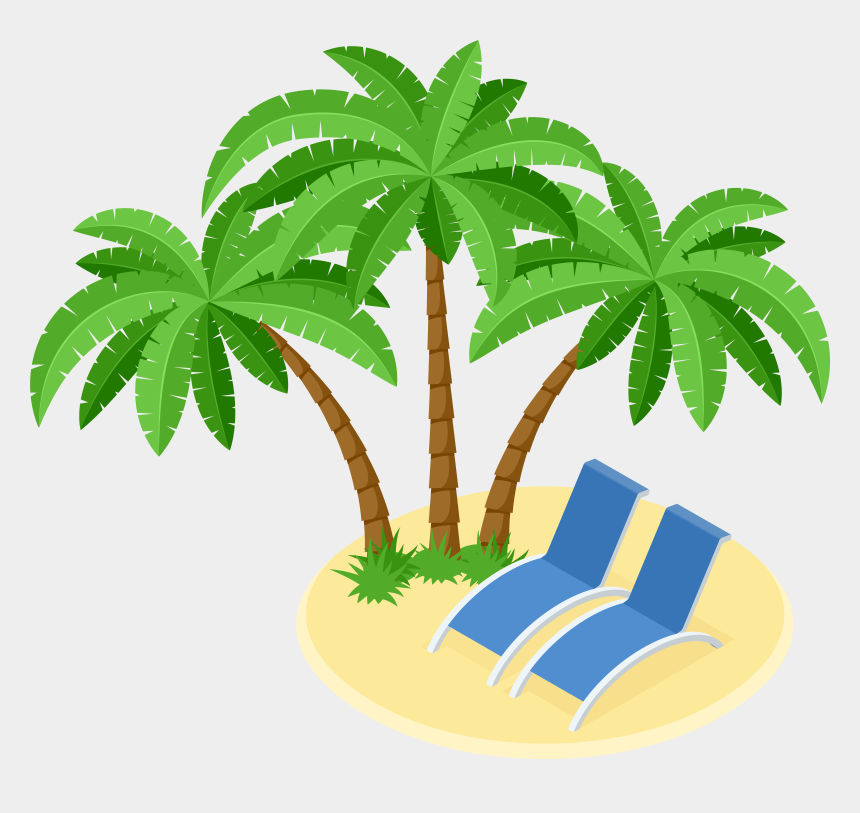 palm tree island clipart, Cartoons - Island Clipart Transparent