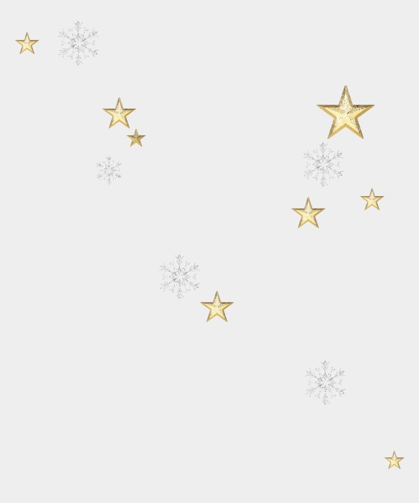 gold snowflake clip art, Cartoons - Star-scatter Snowflake - Star