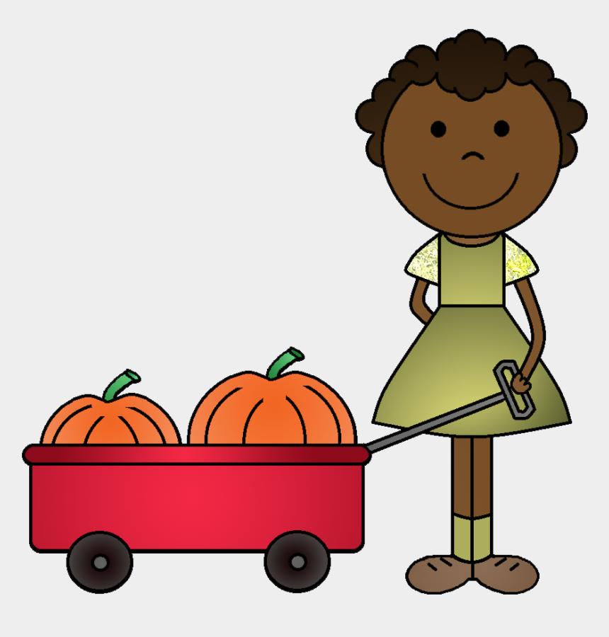 patch clip art, Cartoons - Kids In Pumpkin Patch Clipart