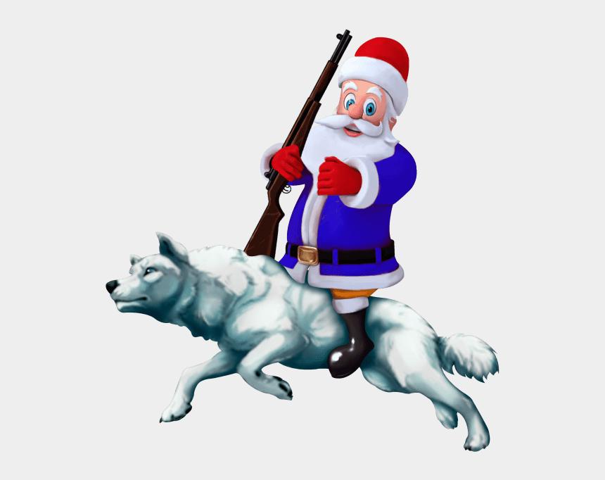 dog sled team clip art, Cartoons - Christmas