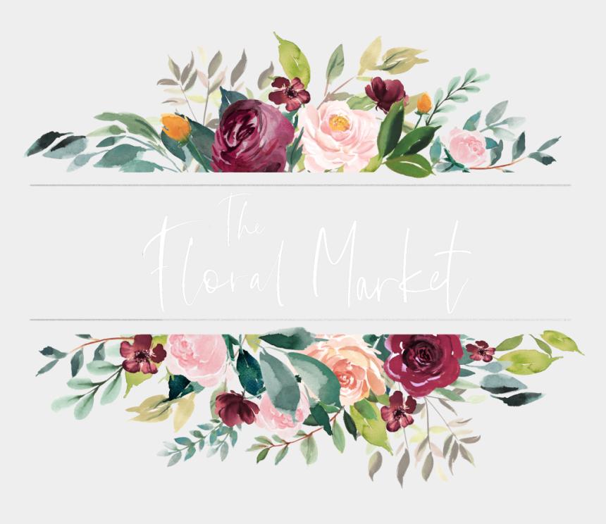 long stemmed rose clip art, Cartoons - The Floral Market - Flower Png Free