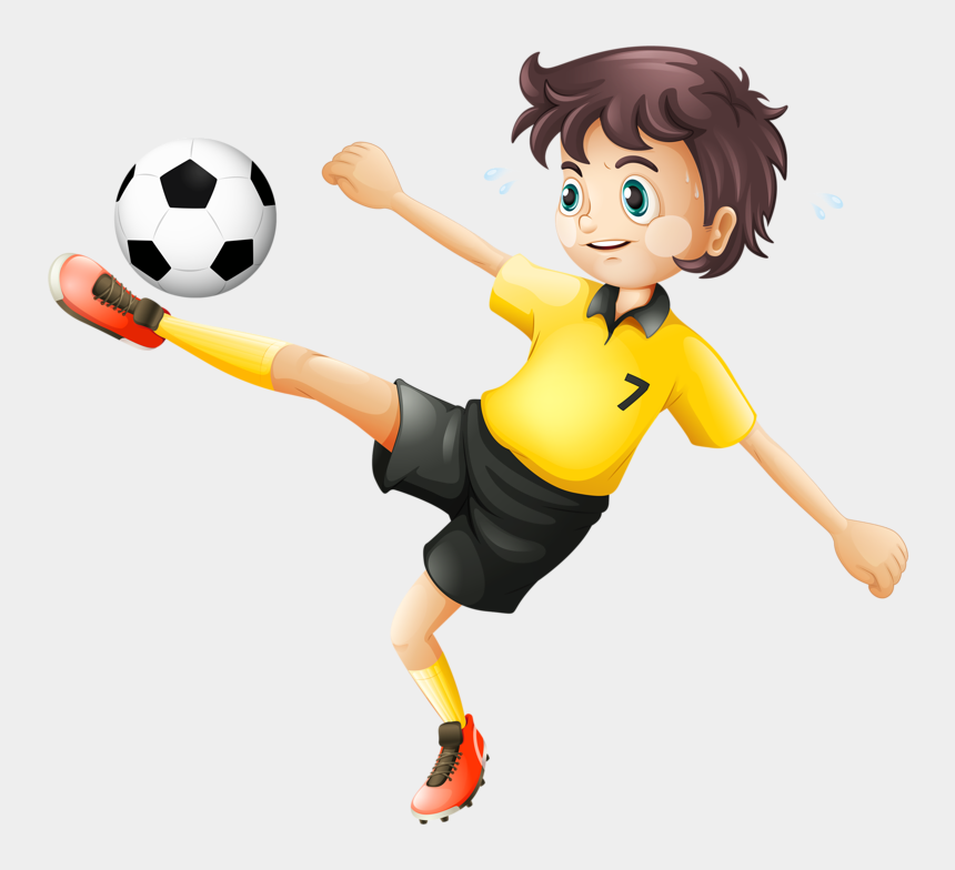 boy kicking soccer ball clip art, Cartoons - Фото, Автор Soloveika На Яндекс - Kick The Ball Clipart