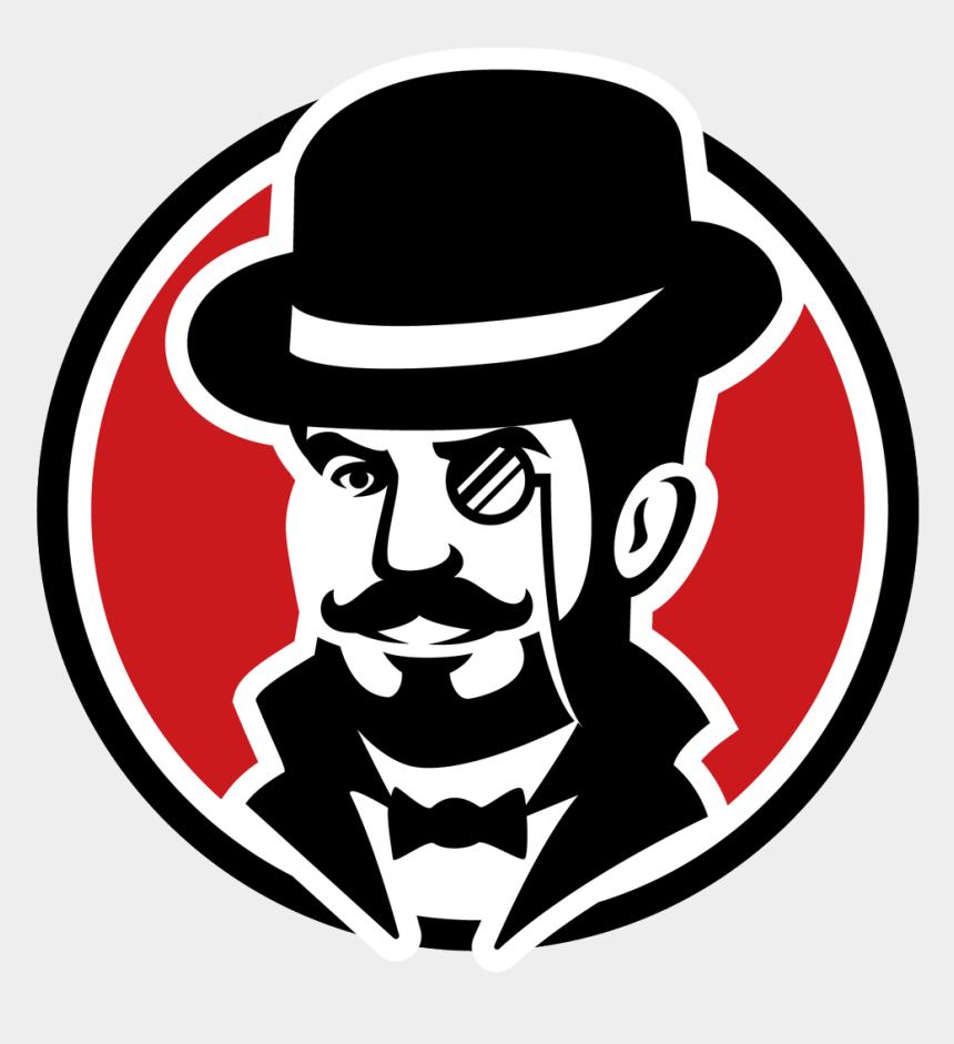 gentleman clip art, Cartoons - Vector Victorian Man Hat Beard