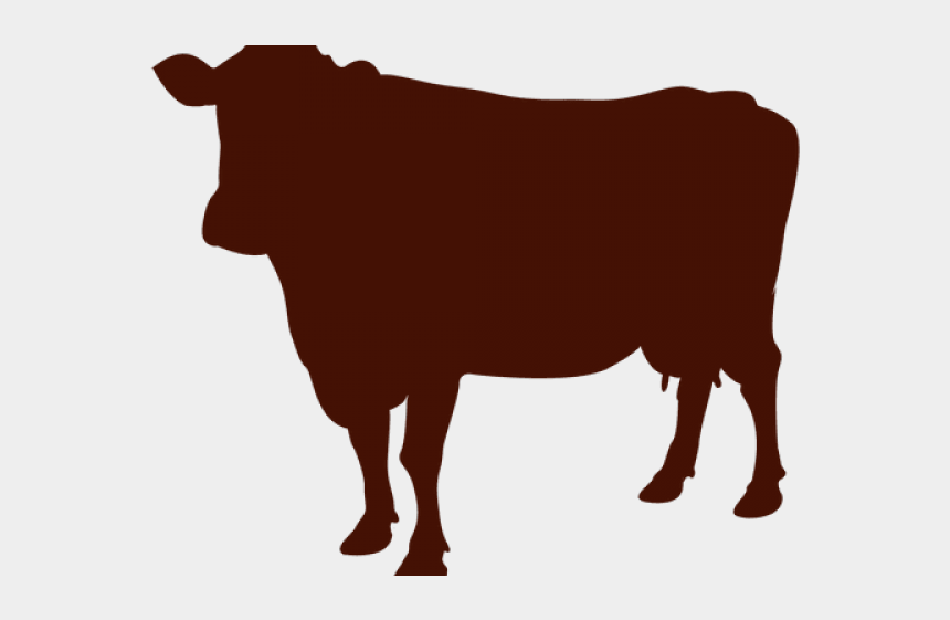 cow hoof print clip art, Cartoons - Bulls Clipart Brown Cow - Transparent Background Cow Clipart Black And White