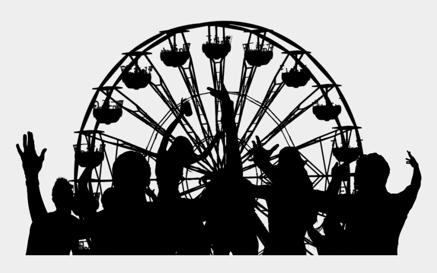ferris wheel silhouette clip art, Cartoons - Finders Keepers Mr - Outline Ferris Wheel