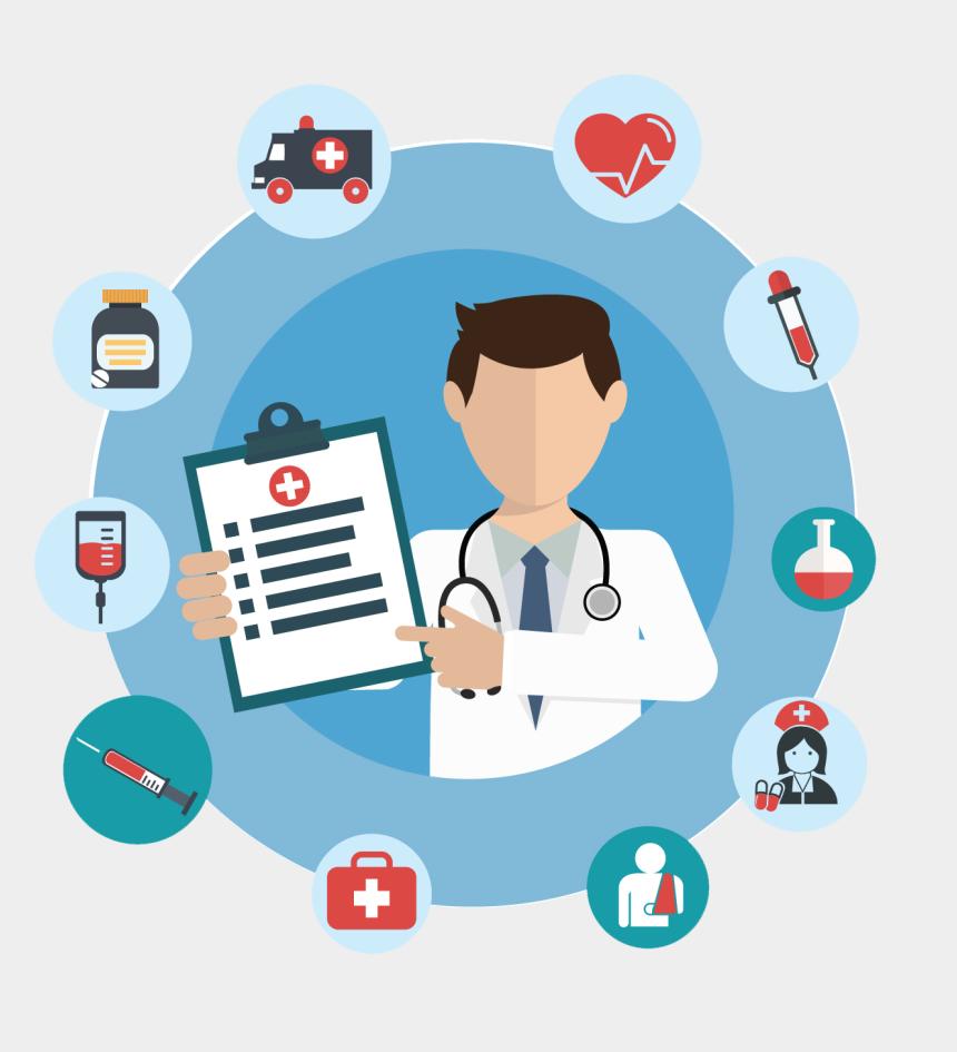 electronic health record clip art, Cartoons - Electronic Health Record Software - Health Care Industry