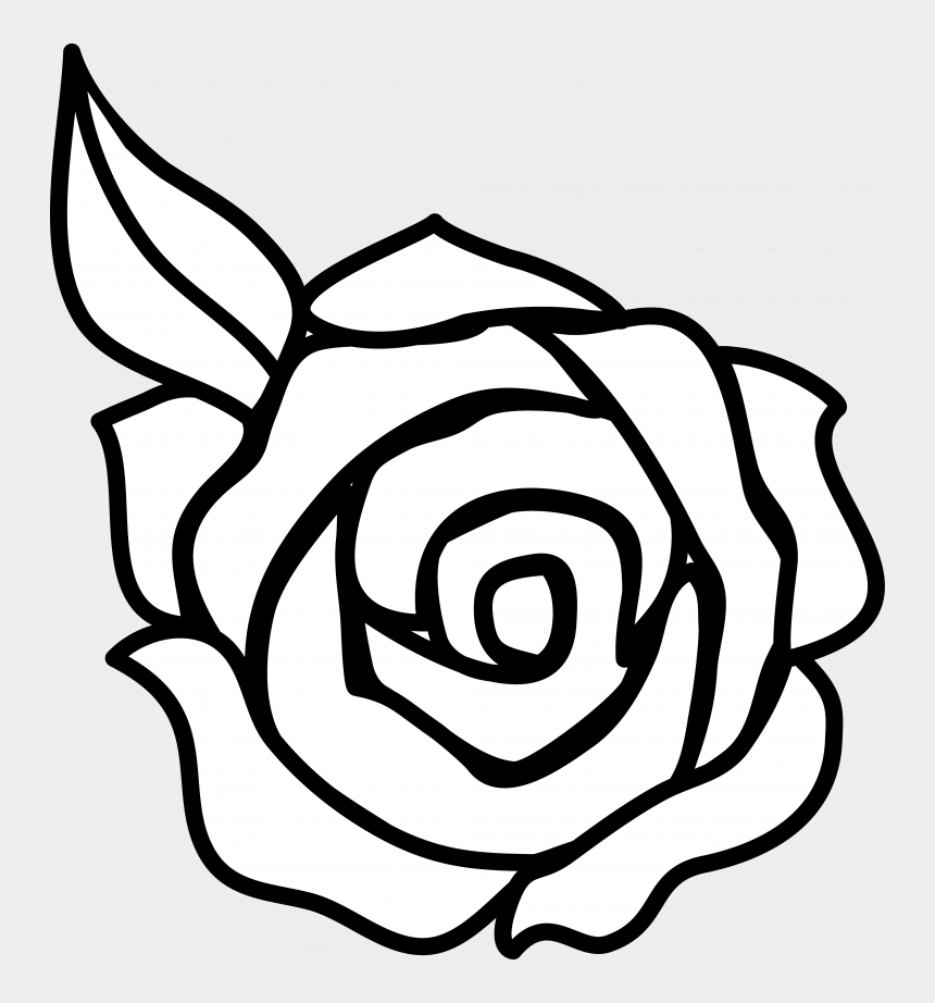 wild rose clip art, Cartoons - Download Rose Clip Art - Easy Rose Flower Drawings