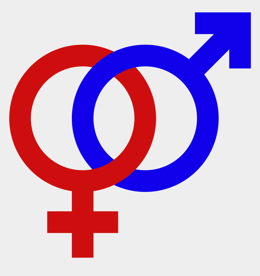 male and female clip art, Cartoons - Male Female Gender Signs Gender Symbol Set Male Female - Male And Female Signs Png