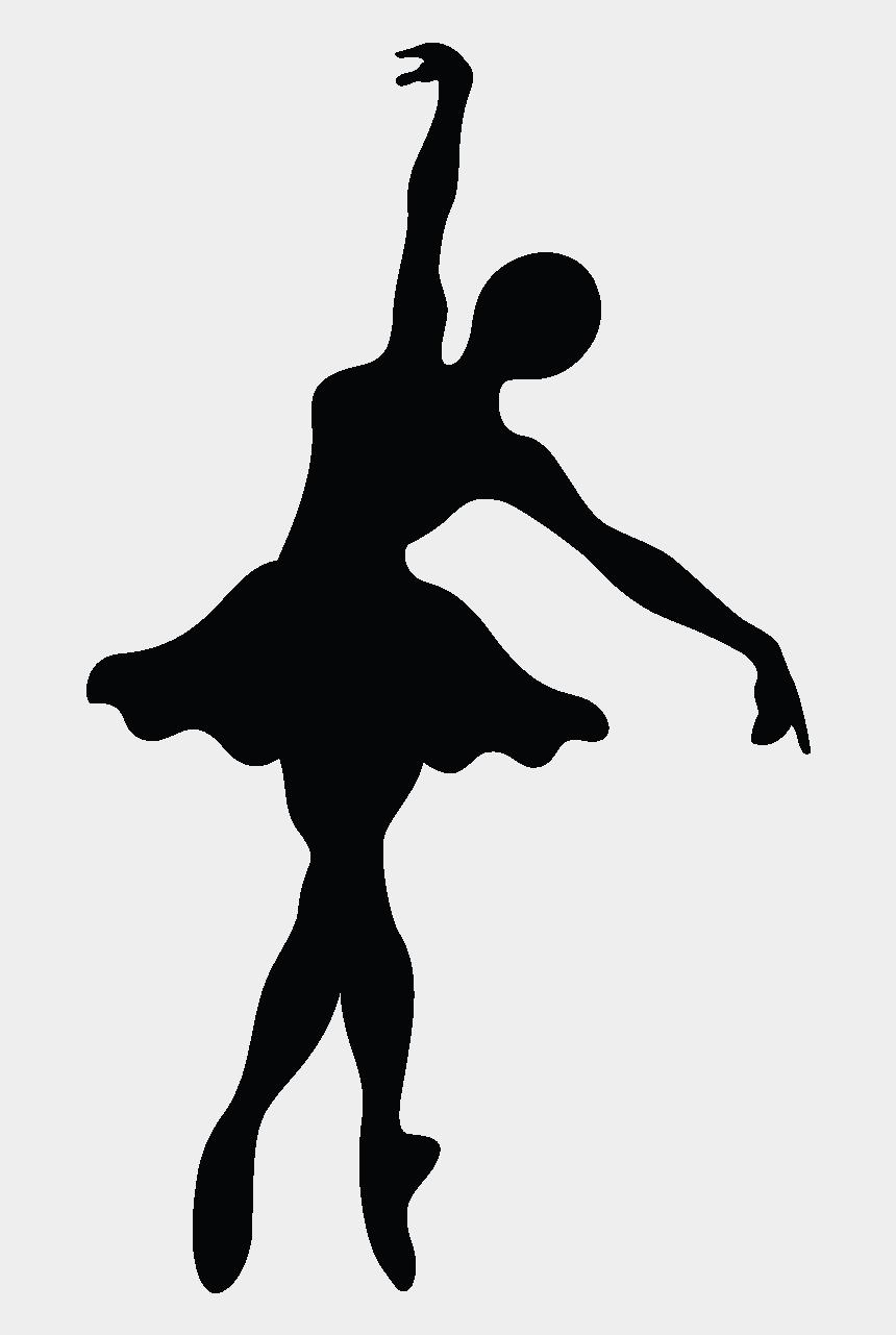 ballet clip art free, Cartoons - Ballet Dancer Silhouette Pointe Technique - Silhouette Danseuse De Ballet
