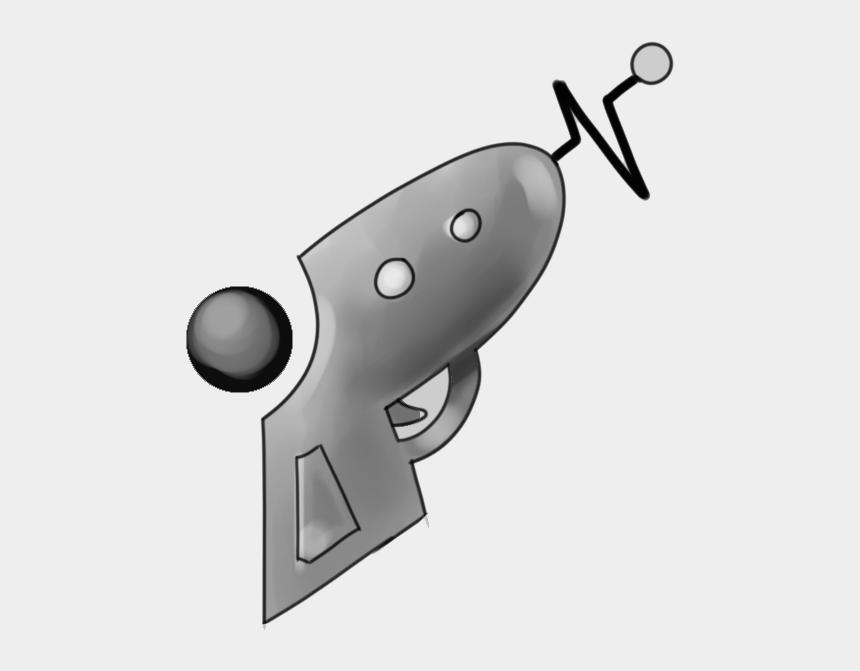 ray gun clip art, Cartoons - A Retro, 50s Style Ray-gun - Trigger