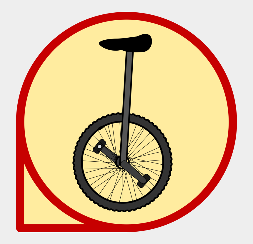 street bike clip art, Cartoons - Bicycle Accessory,wheel,bicycle - Unicycle Clip Art