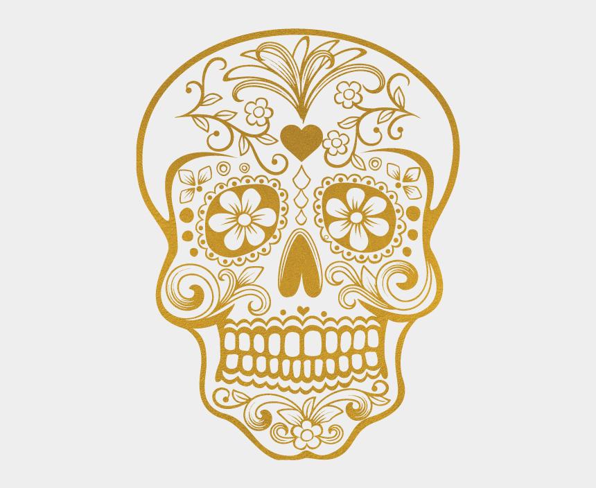 simple sugar skull clip art, Cartoons - Candy Skull - Kromebody - Sugar Skull Printable Colored