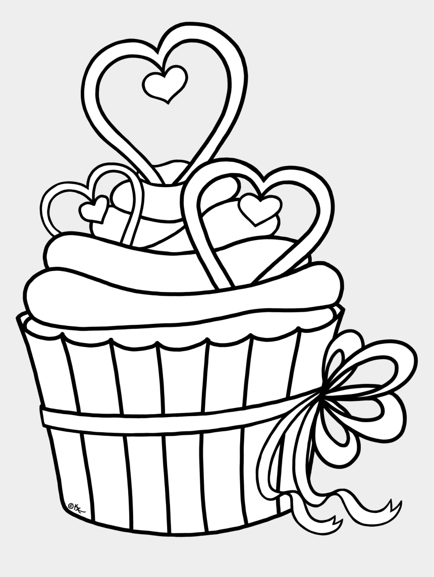 shuffleboard clipart, Cartoons - Royalty-free Images Cupcake Outline Clipart - Heart Cupcake Coloring Pages