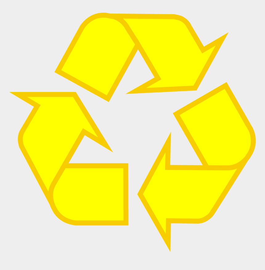 open trash can clipart, Cartoons - Light Green Recycling Symbol - Recycling Cans And Bottles Sign