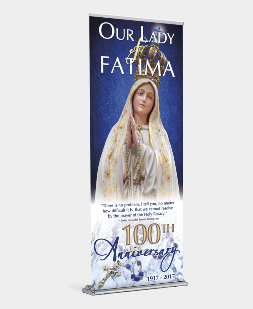 our lady of fatima clipart, Cartoons - Tap To Expand - Our Lady Of Fatima Banner