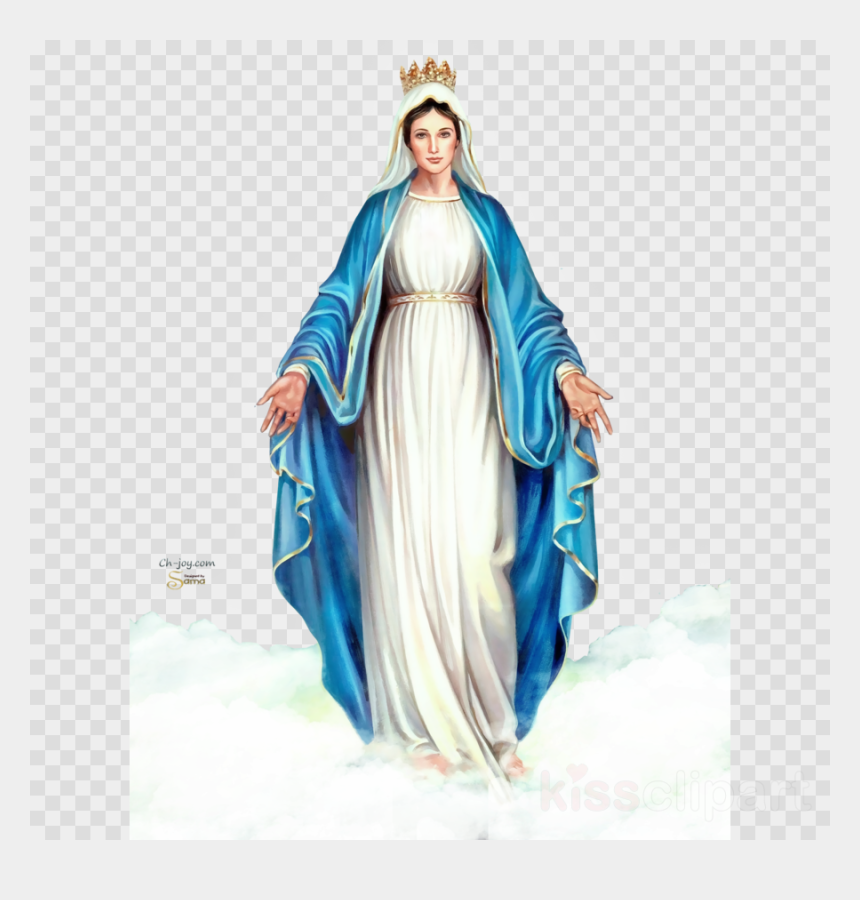 our lady of fatima clipart, Cartoons - Virgin Mary Png - Immaculate Conception Clip Art