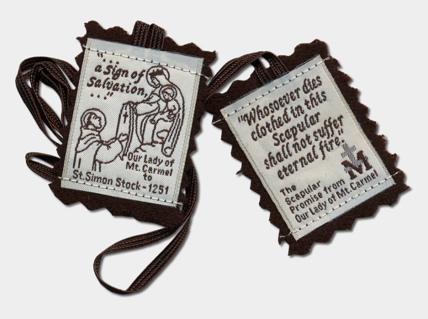 our lady of fatima clipart, Cartoons - Brown Scapular Our Lady Of Mount Carmel