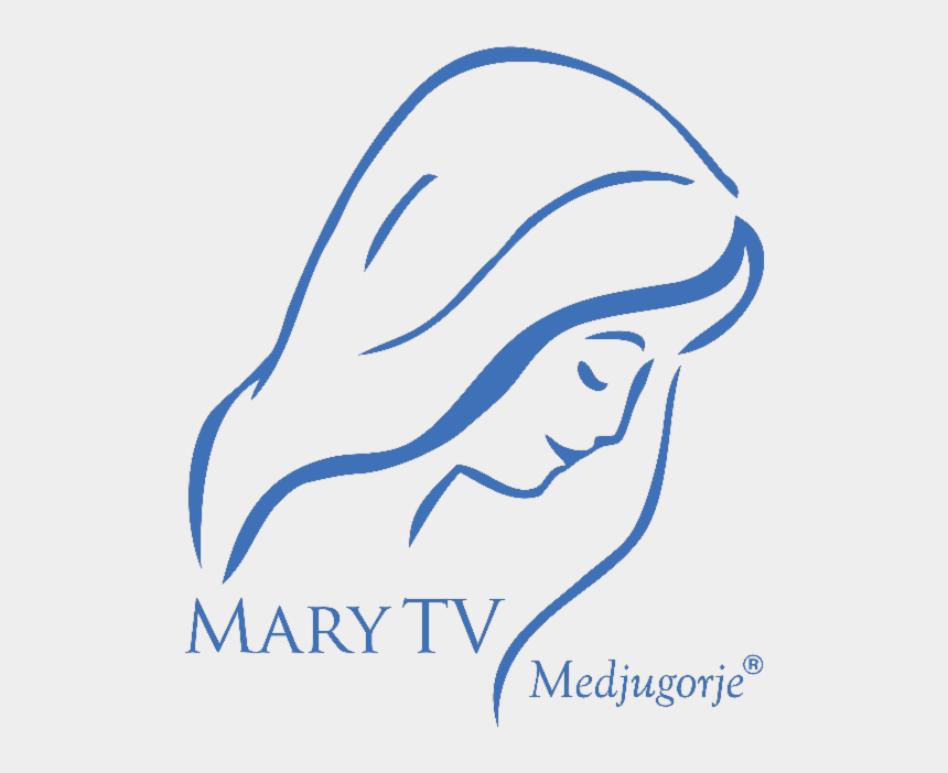 "our lady of fatima clipart, Cartoons - ""medjugorje Is The Spiritual Center Of The World - Easy Picture Of Mary"