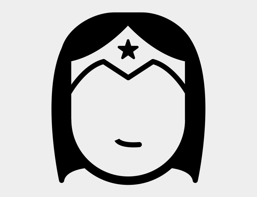 wonder woman logo clipart, Cartoons - Wonder Woman Icon