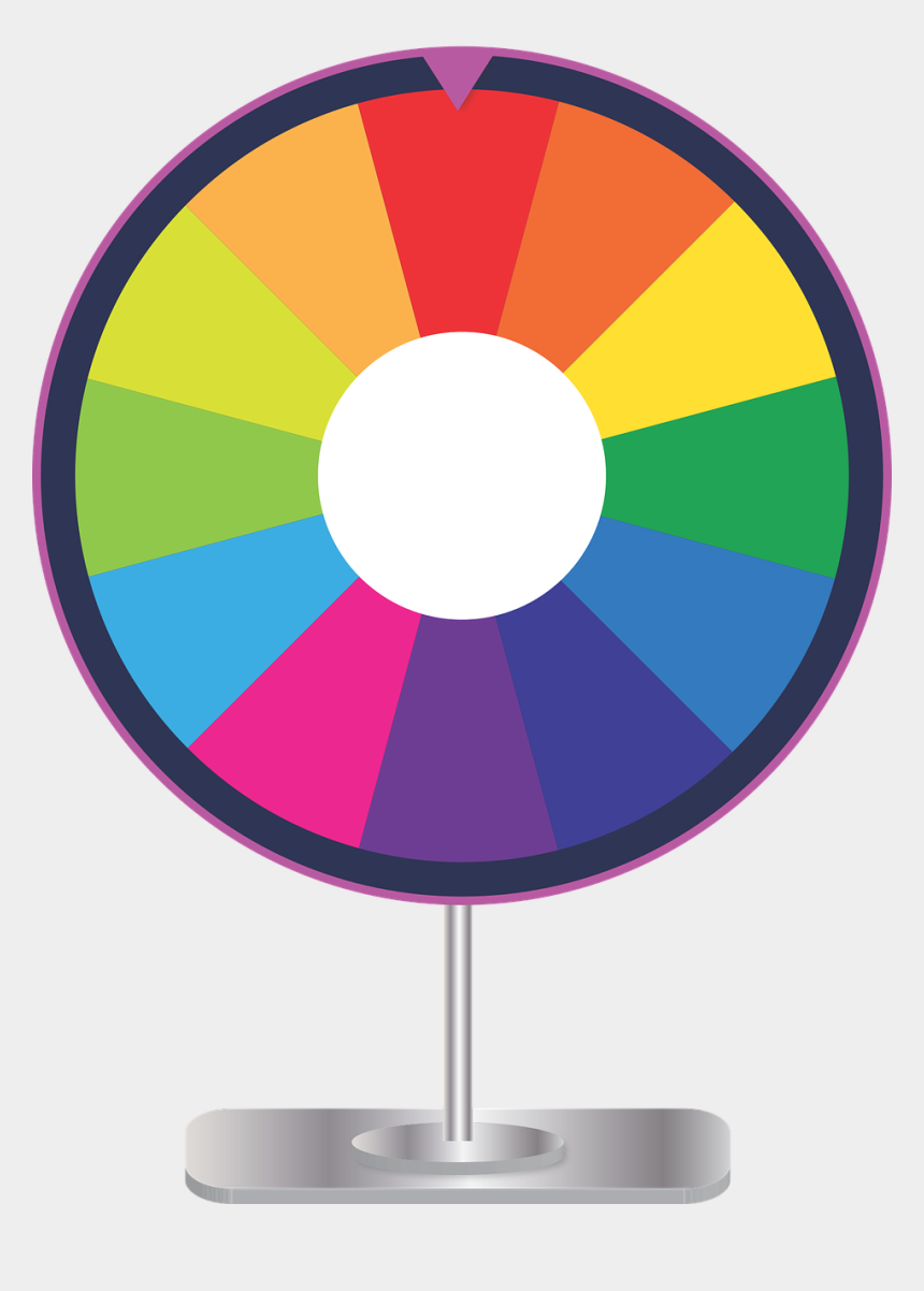 spinning top clipart, Cartoons - Wheel, Fortune, Prize Wheel, Prize, Luck - Prize Wheel Clip Art