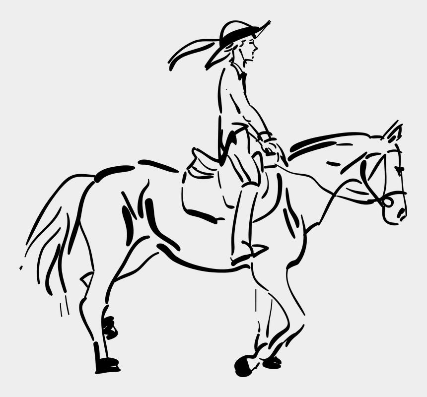 race horses clipart, Cartoons - Equestrian, Horseback, Horse Riding - Ride A Horse Drawings