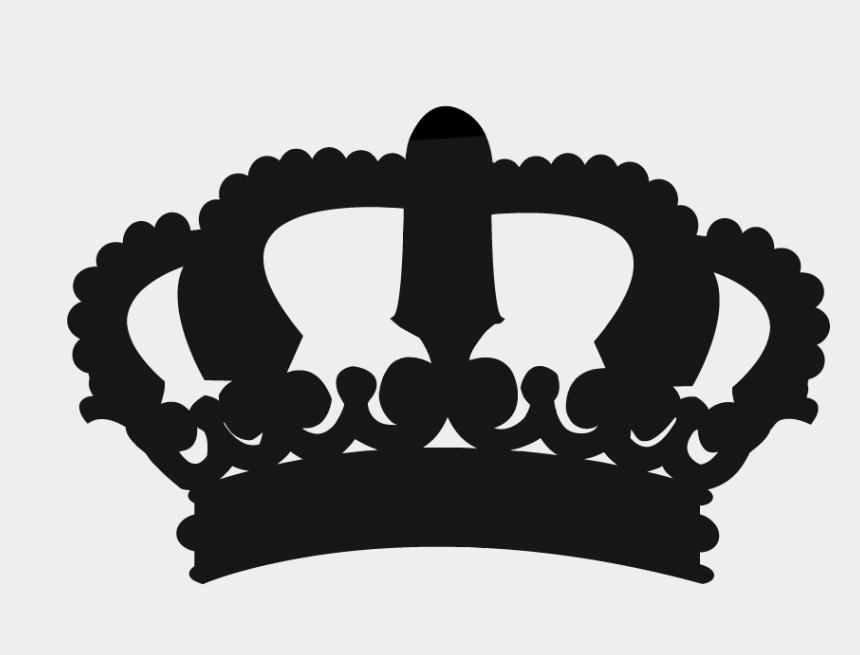 princess royal crown clip art, Cartoons - Crown King Wall Decal Stencil Princess - King And Queen Crown Silhouette