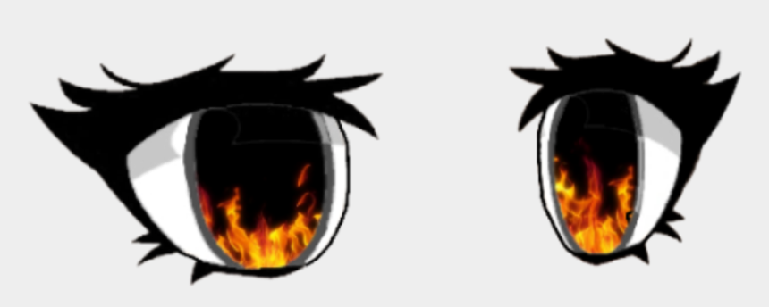devil eyes clip art, Cartoons - #gacha #life #eyes #fire #demon #freetoedit #remixit - Gacha Life Eyes Base