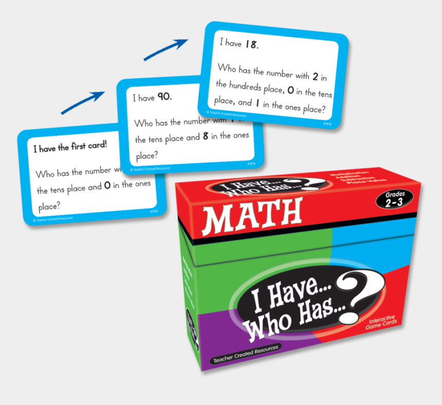 math game clip art, Cartoons - Tcr7818 I Have, Who Has Math Game Grade 2 3 Image - Teacher Created Resources I Have Who Has
