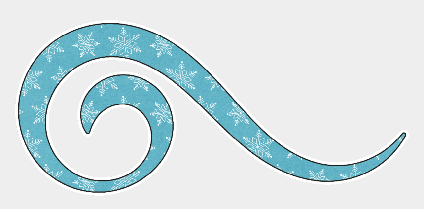 teal swirl clip art, Cartoons - #swirl #snow #blue #frozen - Cloud With Snowflakes Drawing