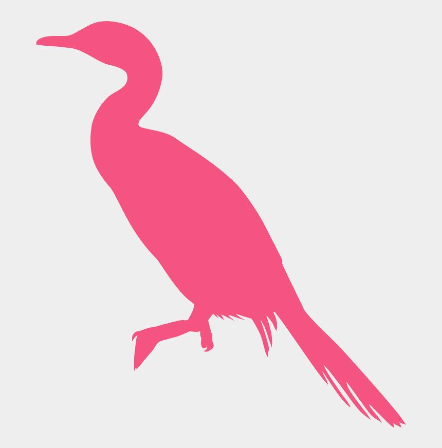 two love birds silhouette clip art, Cartoons - Water Bird