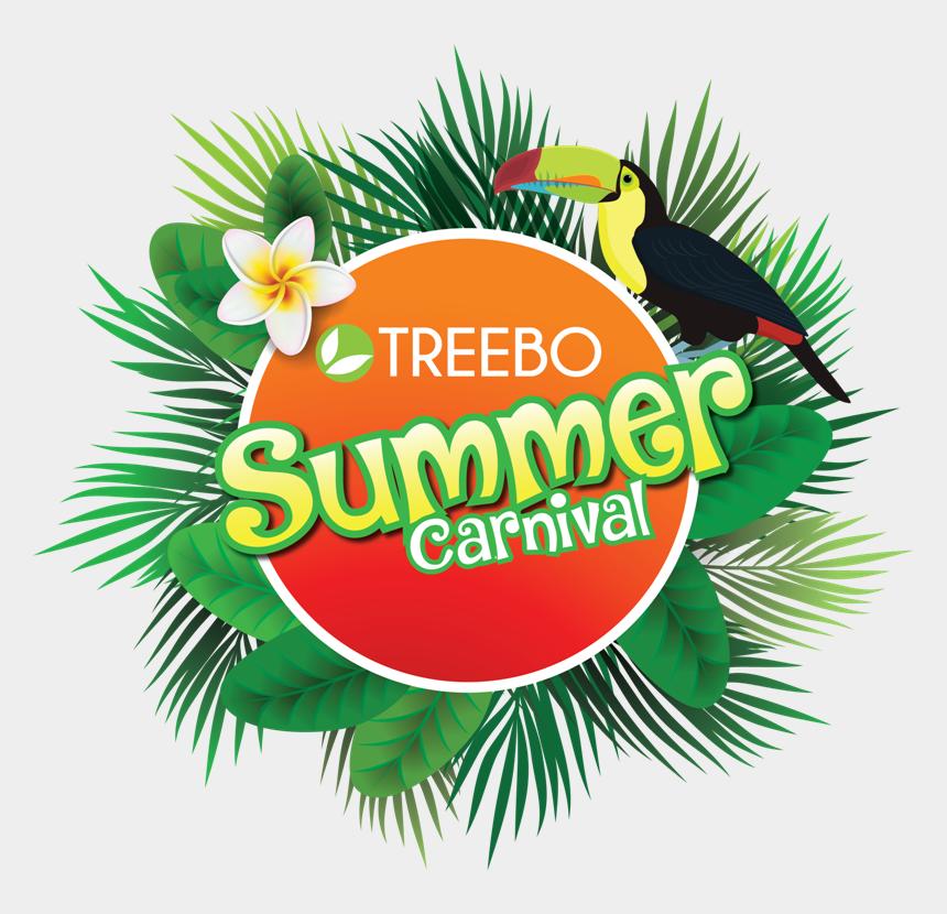 enjoy your summer clip art, Cartoons - Treebo - Illustration