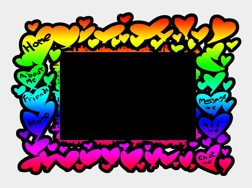 free rainbow heart clip art, Cartoons - Clip Art