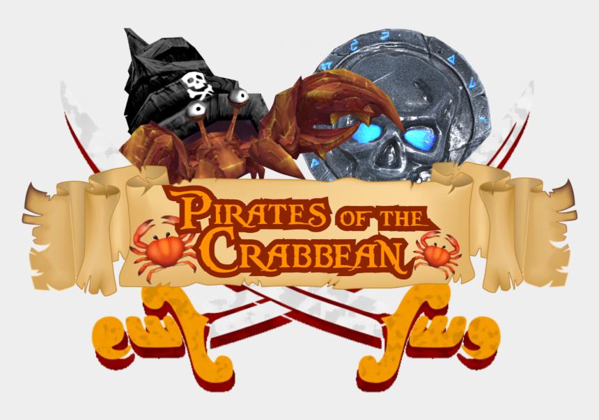 pirate treasure chest clip art, Cartoons - Pirates Of The Crabbean - Illustration