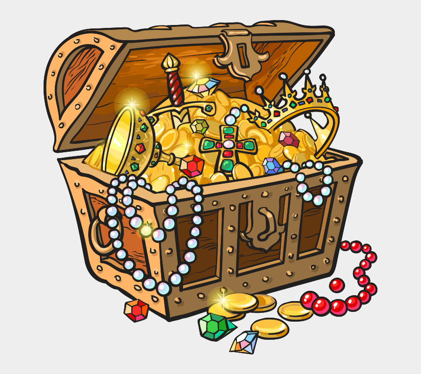 pirate treasure chest clip art, Cartoons - #treasure #pirate #treasurechest #chest #gold - Treasure Chest Pirate Clipart