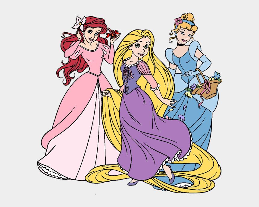 princesses clip art, Cartoons - Disney Princess Clipart