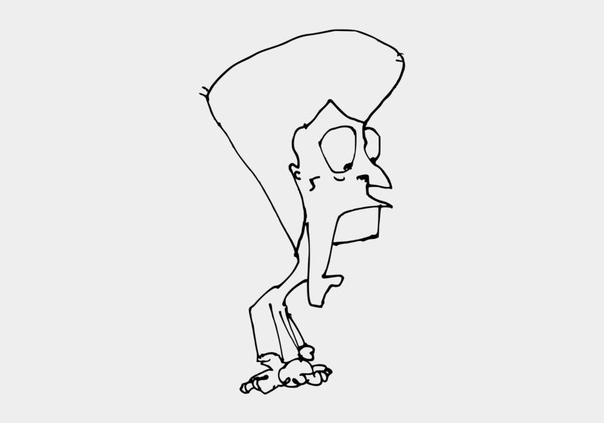 little man clip art, Cartoons - Art,monochrome Photography,artwork - Sketch