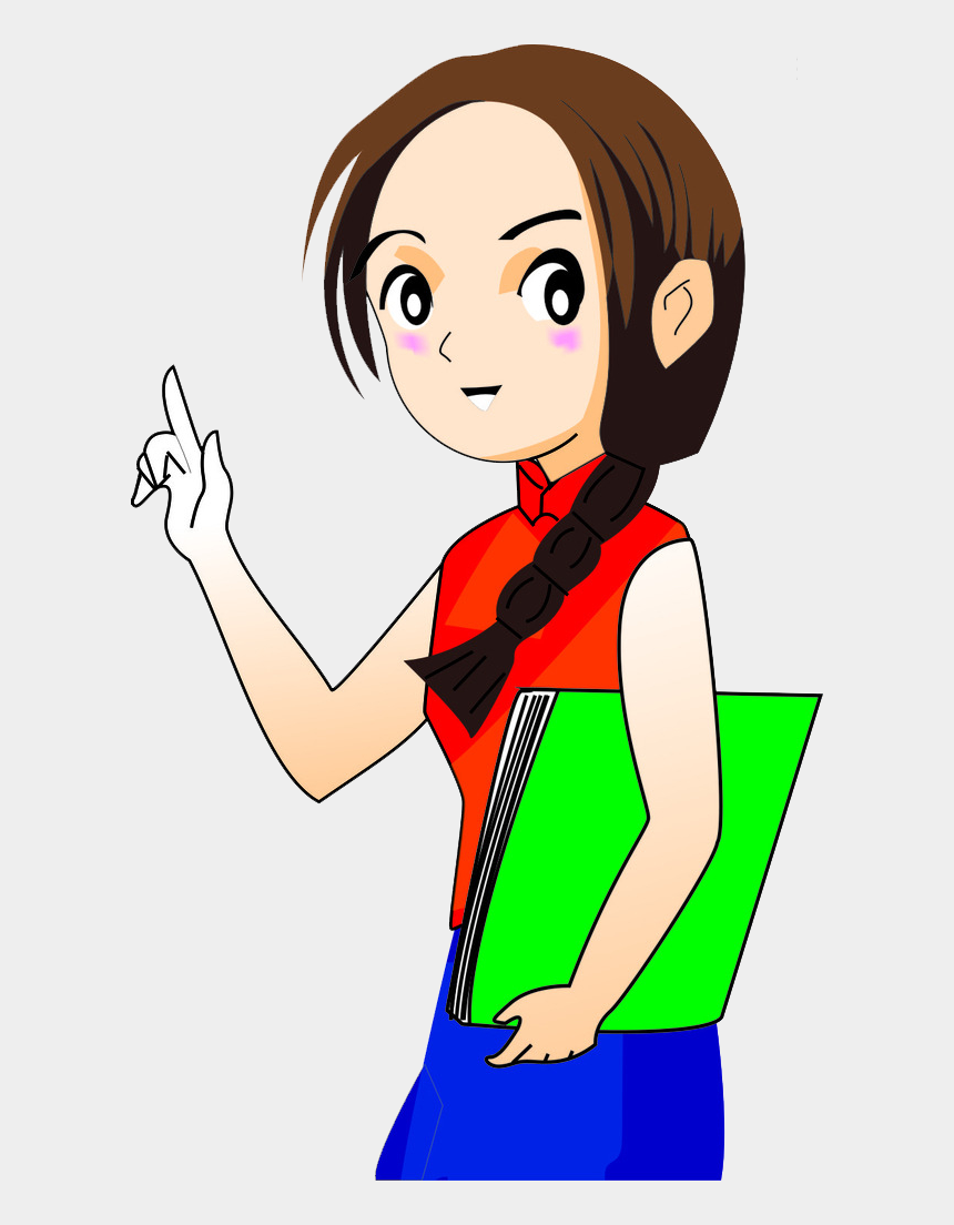 girl teacher clipart, Cartoons - Royalty Free Library Drawing Teacher Female - Drawing Of A Girl Teacher