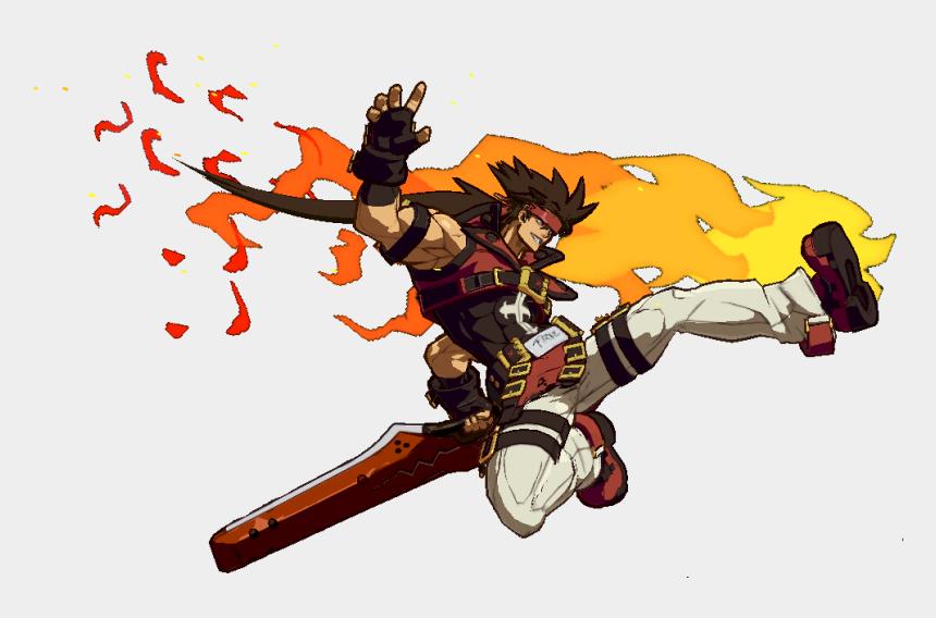 bad guy clip art, Cartoons - Guilty Gear Xrd Sol Badguy Png - Guilty Gear Sol Riot Stamp