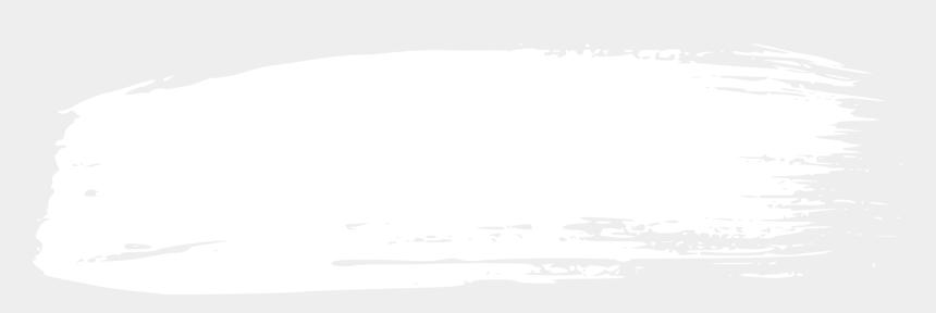 brush black and white clipart, Cartoons - White Grunge Brush Stroke Png