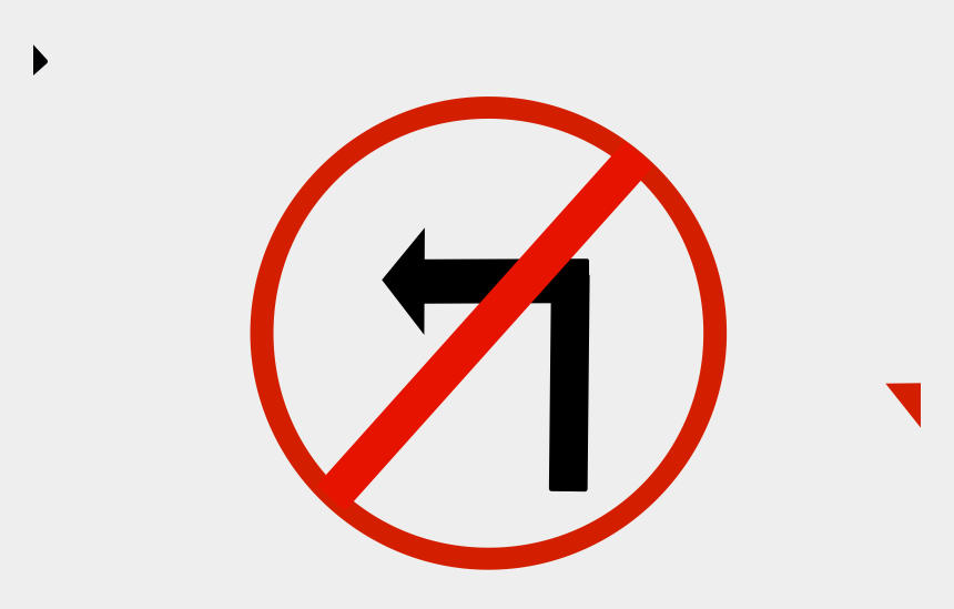 lights out clip art, Cartoons - Clipart Illustration By Cartoon Solutions - Left Turn Prohibited Sign